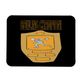 Bowling Champion Magnet