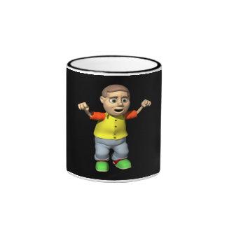 Bowling Champion Ringer Coffee Mug