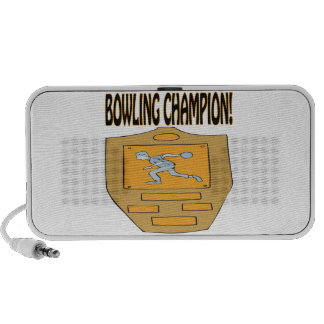 Bowling Champion Travelling Speakers