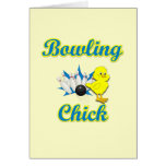 Bowling Chick #2 Cards
