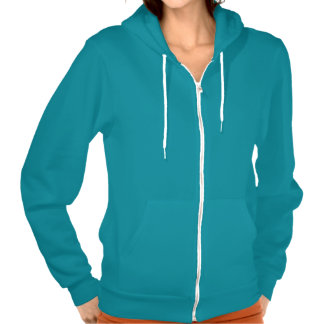 Bowling Chick #2 Hooded Pullover
