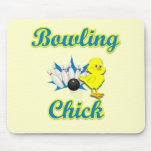 Bowling Chick #2 Mouse Pad
