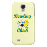Bowling Chick #2 Samsung Galaxy S4 Cover