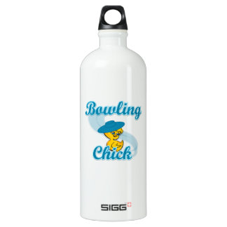 Bowling Chick #3 Water Bottle