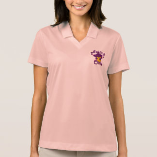 Bowling Chick #9 Polo Shirt