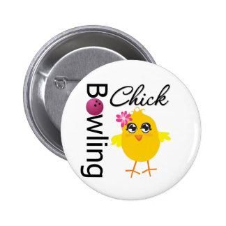 Bowling Chick Button