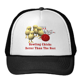 Bowling Chicks Trucker Hat
