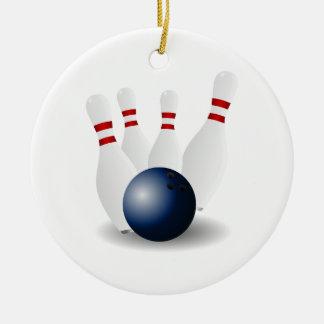 Bowling Christmas Ornament