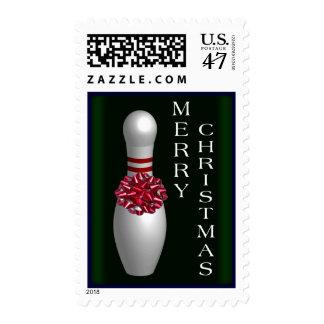 Bowling Christmas Postage