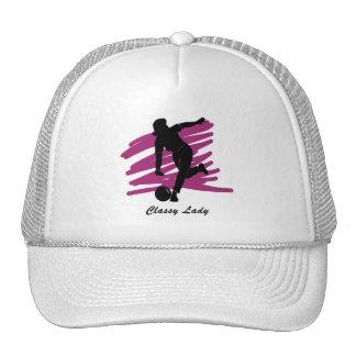 Bowling: Classy Lady Bowler Mesh Hats