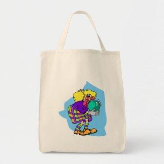 Bowling Clown bag