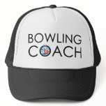 Bowling Coach Trucker Hat