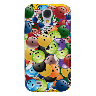 Bowling Collage 3G/3GS  Samsung Galaxy S4 Case