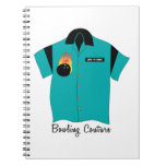 Bowling Couture Spiral Note Book