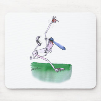 BOWLING - cricket, tony fernandes Mouse Pad
