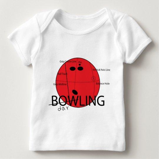 Bowling-Darling Baby T-Shirt