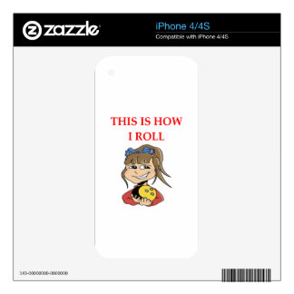 BOWLING DECALS FOR THE iPhone 4S