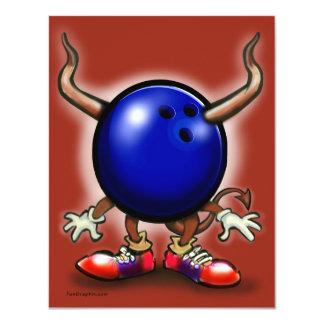 Bowling Demon Card