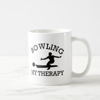 bowling design coffee mug