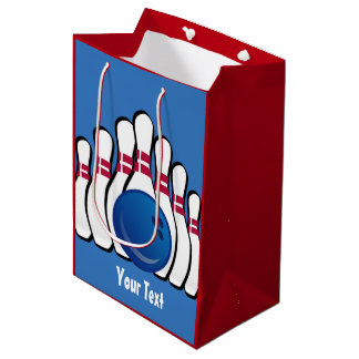 Bowling Design Gift Bag