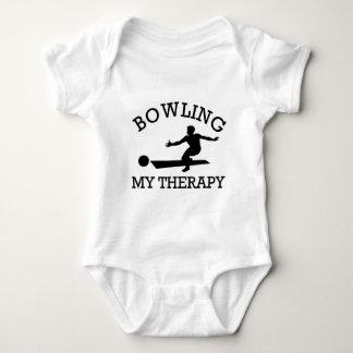 bowling design t-shirt