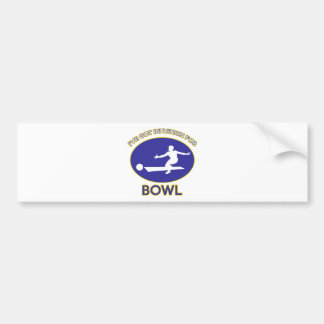 bowling Designs Bumper Sticker