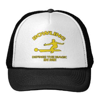 bowling DESIGNS Trucker Hat