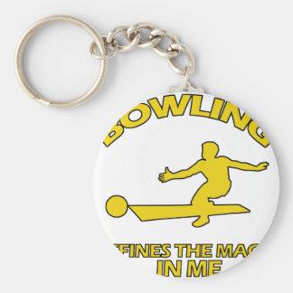 bowling DESIGNS Keychain