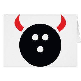 Bowling Devil Card