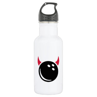 Bowling devil water bottle