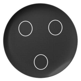 Bowling Dinner Plate