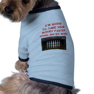 bowling doggie shirt