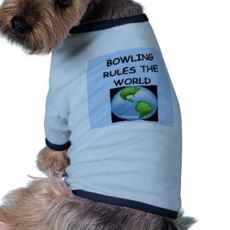 bowling pet clothes