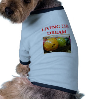 bowling doggie t shirt