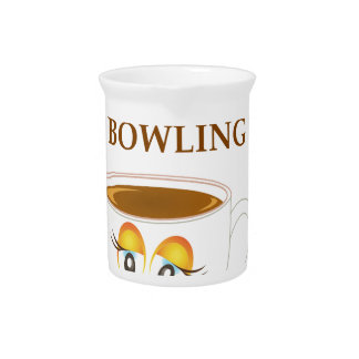 BOWLING DRINK PITCHER