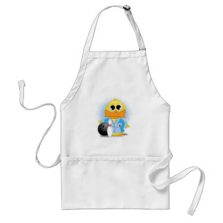 Bowling Duck Adult Apron