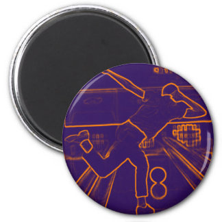 Bowling Electrify 2 Inch Round Magnet