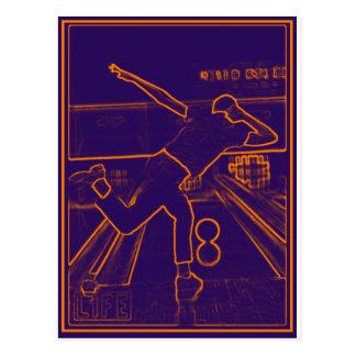 Bowling Electrify Postcard
