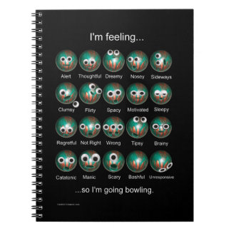 Bowling Emotions Notebook