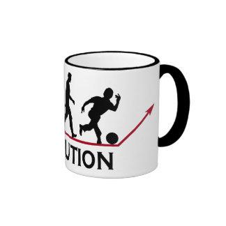 Bowling Evolution Ringer Coffee Mug