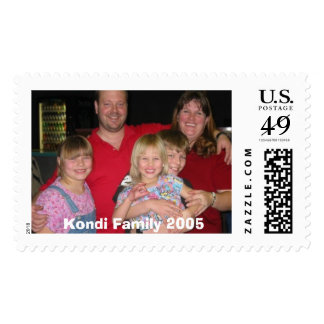 bowling family2, Kondi Family 2005 Postage