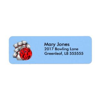 Bowling Fan Label