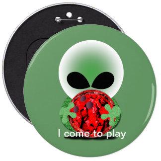 Bowling Fan Pinback Button