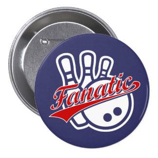 Bowling Fanatic Buttons