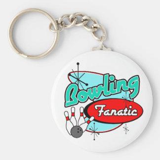 Bowling Fanatic Keychain