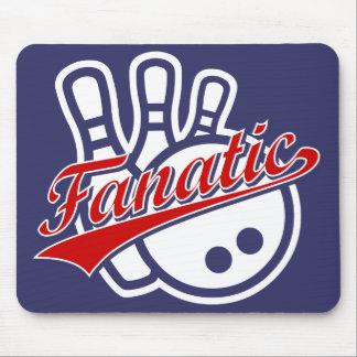 Bowling Fanatic Mouse Pad