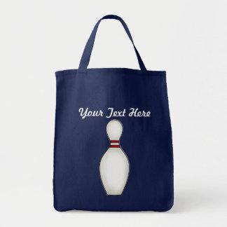 Bowling Fashions Grocery Tote Bag