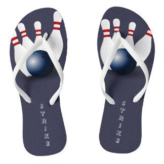 Bowling Flip Flops