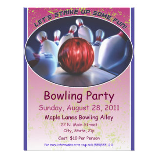 Bowling Flyer