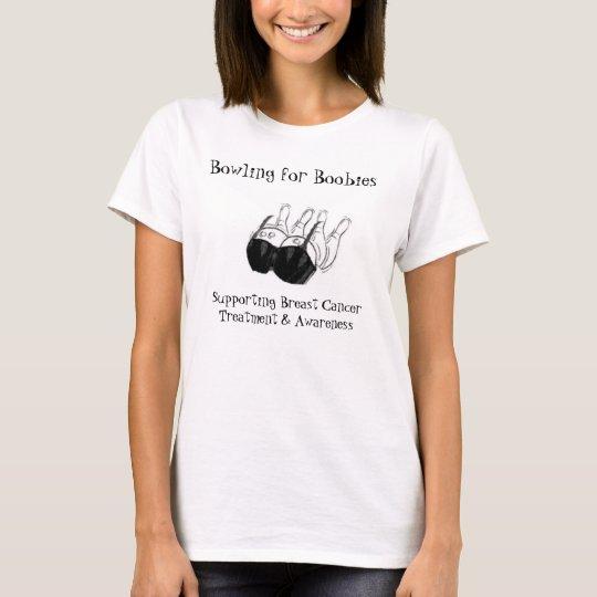 Bowling for Boobies-www.bowlingforboobies.com T-Shirt